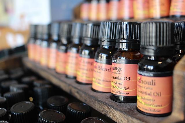 vonné oleje