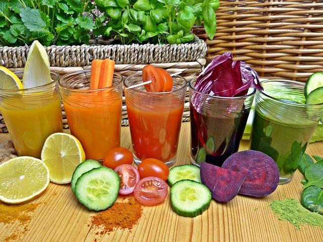 zdravé nápoje