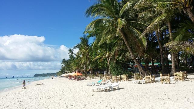 pláž Boracay