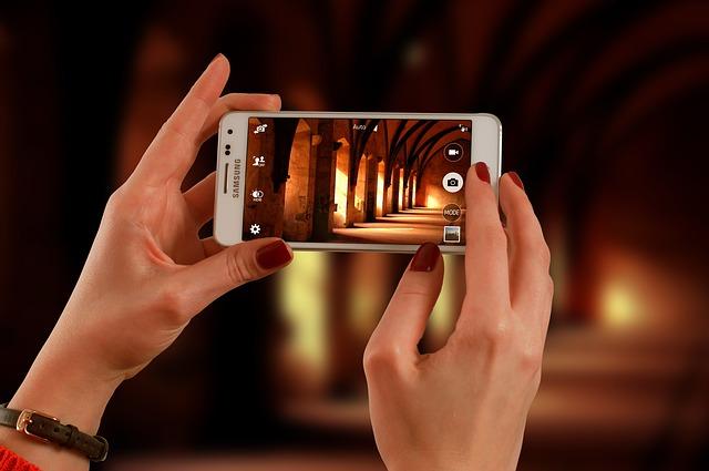 focení smarthphonem