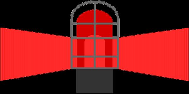 červený maják